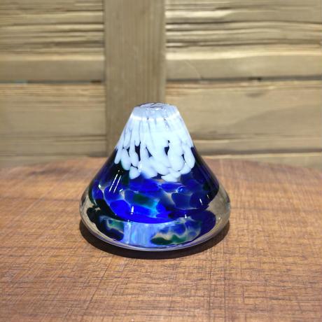 白井ガラス工房の富士山のペーパ...
