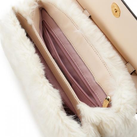 ファーバッグとお財布のセット