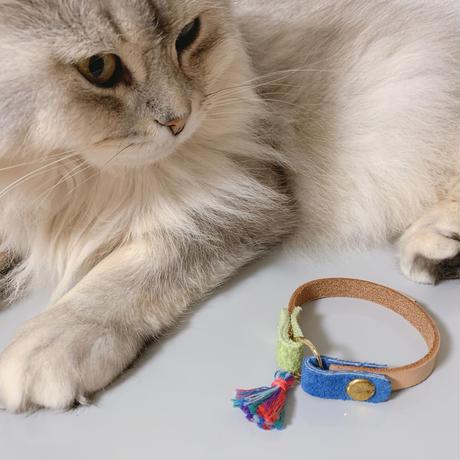 ★愛猫様の首輪とお揃いのブレスレット★
