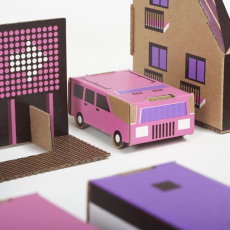 paper town #3 PINK (3512pptaw003)