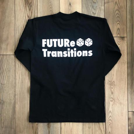 [FUTURe Transitions]Long-sleeve shirt   ホワイト・ブラック