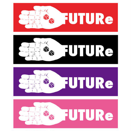 [FUTURe] BOX LOGO Sticker 4color Set