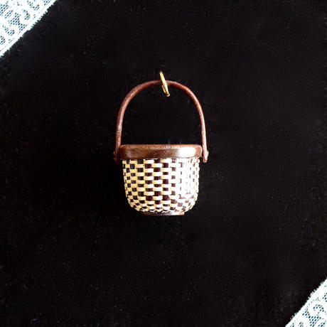 Nantucket Basket 1inch Round 茶