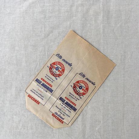 【フランス】ヴィンテージ紙袋/底マチ/socoree