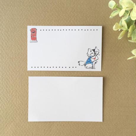 手描き風イラスト*ミニカード/MIX/12枚