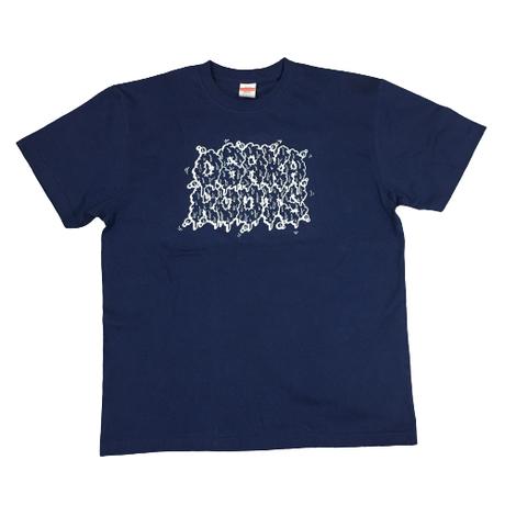 OSAKA ROOTS CGERデザイン Tシャツ 【メンズLサイズ】ネイビー