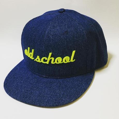 """old school""  Denim Baseball Cap"