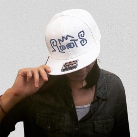 """Hand Written """"ROOTS"""" キャップ 0010"""