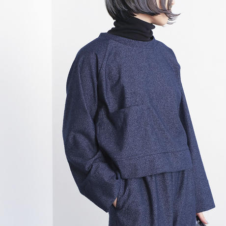 raglan sleeve  pocket pullover (cr-20205)