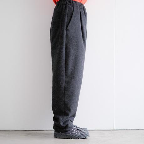 wool draw-code jogger pants (cr-20204)