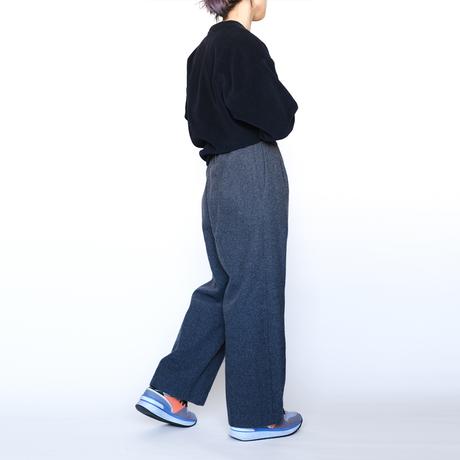 wool mosser easy pants (cr-19211)