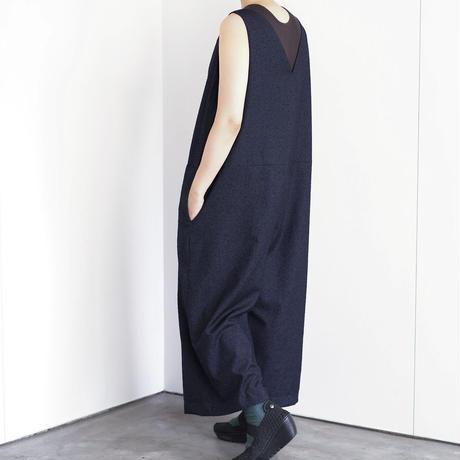 wide silhouette salopette (cr-20209)
