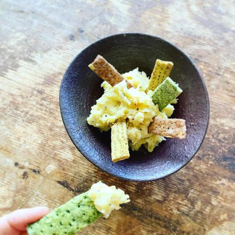 VEGICRA 葉山 野菜のクラッカー(玉葱+カレー)
