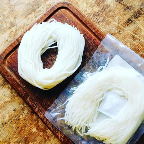 3pmの無農薬漢方栽培米で作った半生米粉麺(玄米麺)*次回発送 4月23日(金)