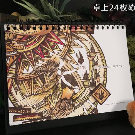 2020年卓上カレンダー(24枚めくり) 3to10 Calendar 2020 [+D]