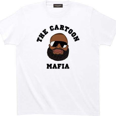 CartoonMafia T-Shirts 001 White