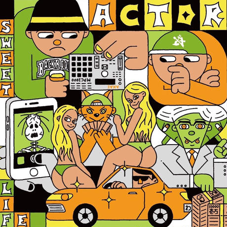 誤 [ACTOR]   CD-R ・特典ジャケットサイズワッペン+ステッカー(限定生産100枚)
