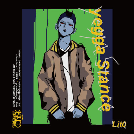 lito[yegga stance _mix by  DJ PANASONIC] CD