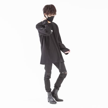 yuinon×42 Graphic L/S (Black)