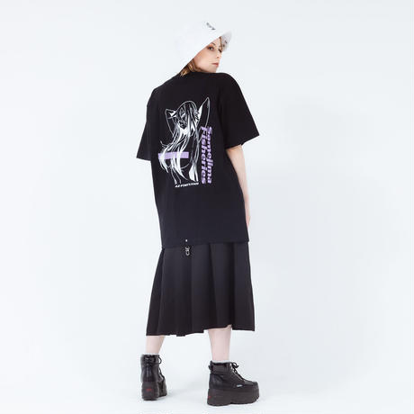 鮫島水産×42 - LOOP CLUTCH T-SHIRTS D