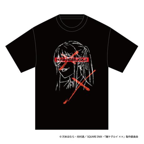 SOLOMON×賭ケグルイ××「早乙女芽亜里 T-Shirts」(BLK)