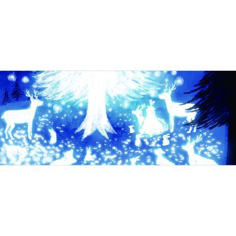 【雪と星の木】(メリーミルク )[マグカップ]