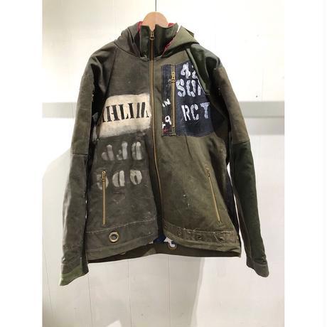 OLDPARK / Duffle Puf Jacket -DUFFLE BAG