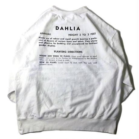 niche.USA / Flower Seeds Crew Neck Sweat - DAHLIA