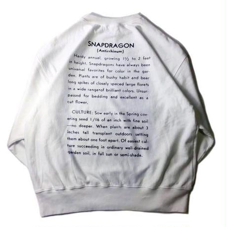 niche.USA / Flower Seeds Crew Neck Sweat-SNAPDRAGON