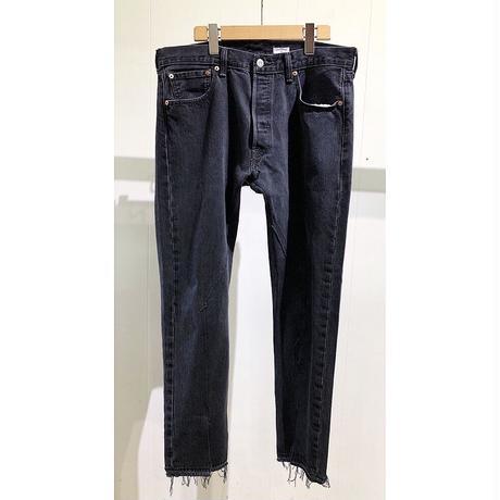 "OLDPARK  / Slit Jeans  #Black ""E"" / size:L"