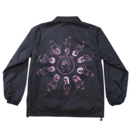 "SHUNTAROU TAKEUCHI × RYUHEI KOBOSHI / ""Pie"" Coach jacket - black"