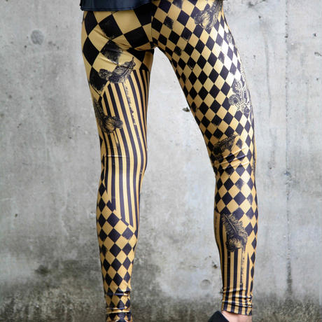 4U_PARISAMSTERDAM 【レギンス JOKER】Metallic Gold