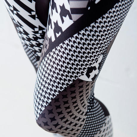 4U_PARISAMSTERDAM 【レギンス PUNK MIX】White/Black