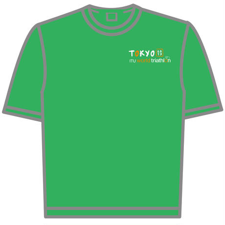 ドライTシャツ(ブライトグリーン)
