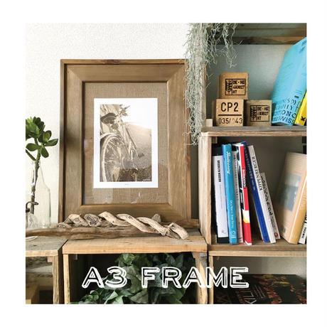 Drift Frame【 A3 / GOLDEN OAK 】