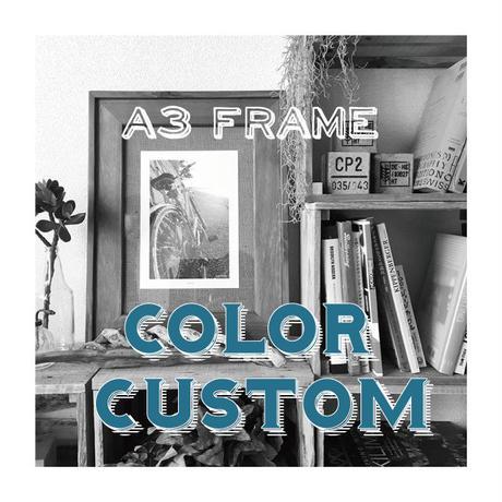 Drift Frame Color Custom【 A3 】