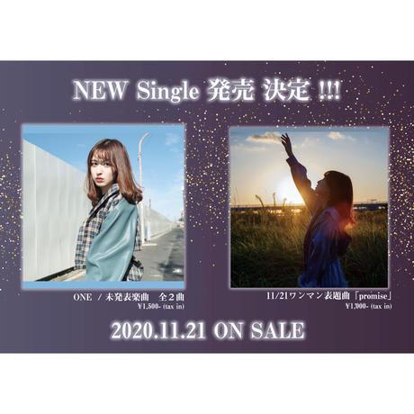シングルCD「ONE / START 」