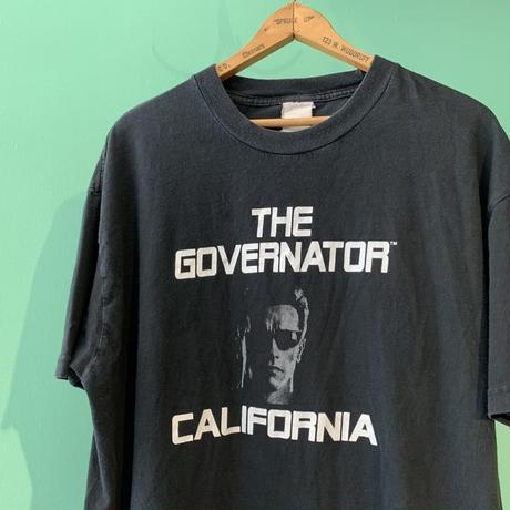THE GOVERNATOR CALFORNIA  シュワルツェネッガー Tシャツ!