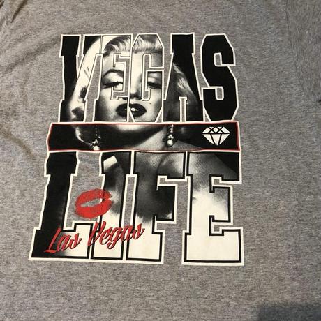マリリン モンロー VEGAS LIFE Tシャツ!