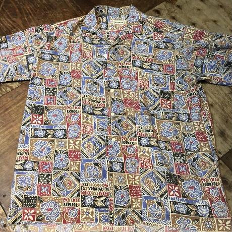 80s~90s L.L bean 柄シャツ!