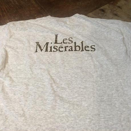 00s〜 レ ミゼラブル Les Miserables  Tシャツ!