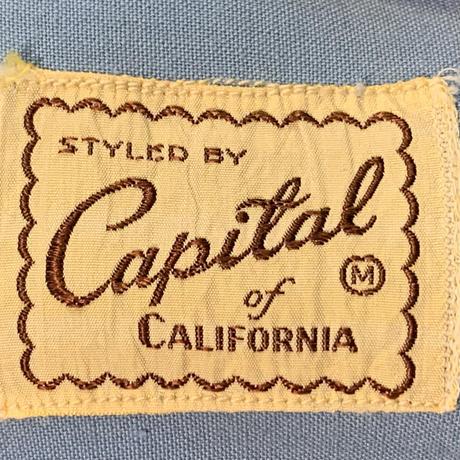1950s  ビンテージ レーヨンシャツ!
