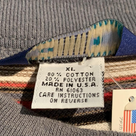 90s アメリカ製 OP(ocean pacific) 鹿の子 ボーダーTシャツ!