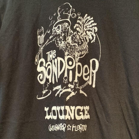 80s デッドストック VELVA SHEEN  The sandpiper Lounge Tシャツ!