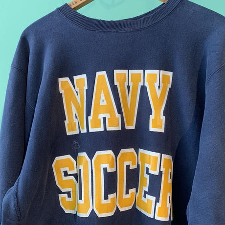 90s アメリカ製 U.S NAVY チャンピオン リバースウィーブ スエットシャツ