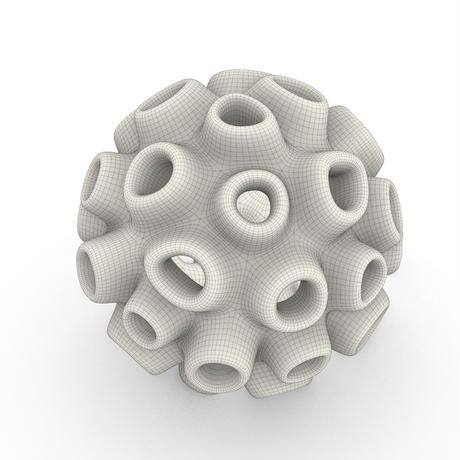 凸凹サンゴ ( 珊瑚 )のイヤリング【ピアスへの変更可能】