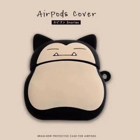 即納!AirPods エアポッツ ケース カビゴン エアポッズ シリコンケース 送料込み