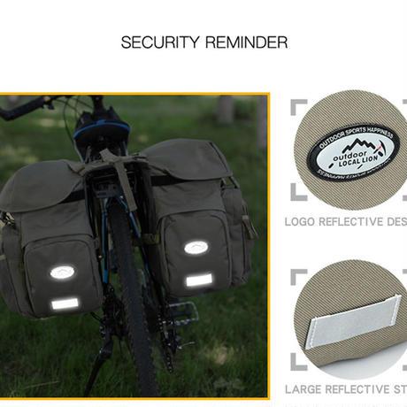 自転車バック 大容量 パニアバッグ 取り外し簡単 多機能 サイクリング 旅バック サイドバッグ カラーお選び頂けます