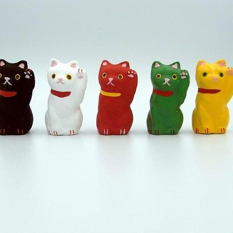 豆豆招き猫【お立ち・お座り】