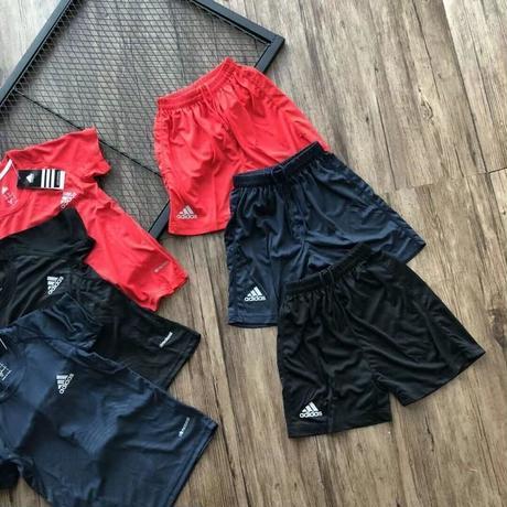 値下げ!アディダス tシャツ Adidas アディダス 半袖+ショーツ セット T13884792 3色